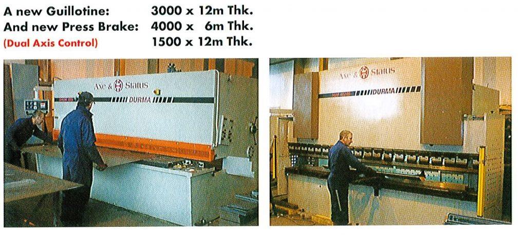 One Offs Machinery 2001