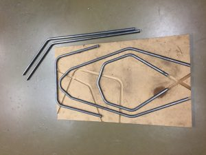 One offs Tube bending for University of Liverpool motorsport